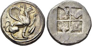 Ionia  - Teos. Silver stater, ...
