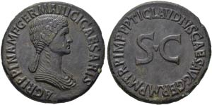 Agrippina Senior (died 33 AD). ...