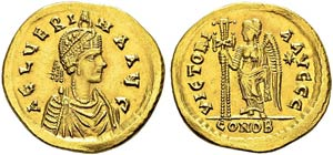 Aelia Verina, 457-474. Wife of Leo ...